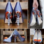 Custom Wedding Shoes Mountain Climbing Shoes Collage