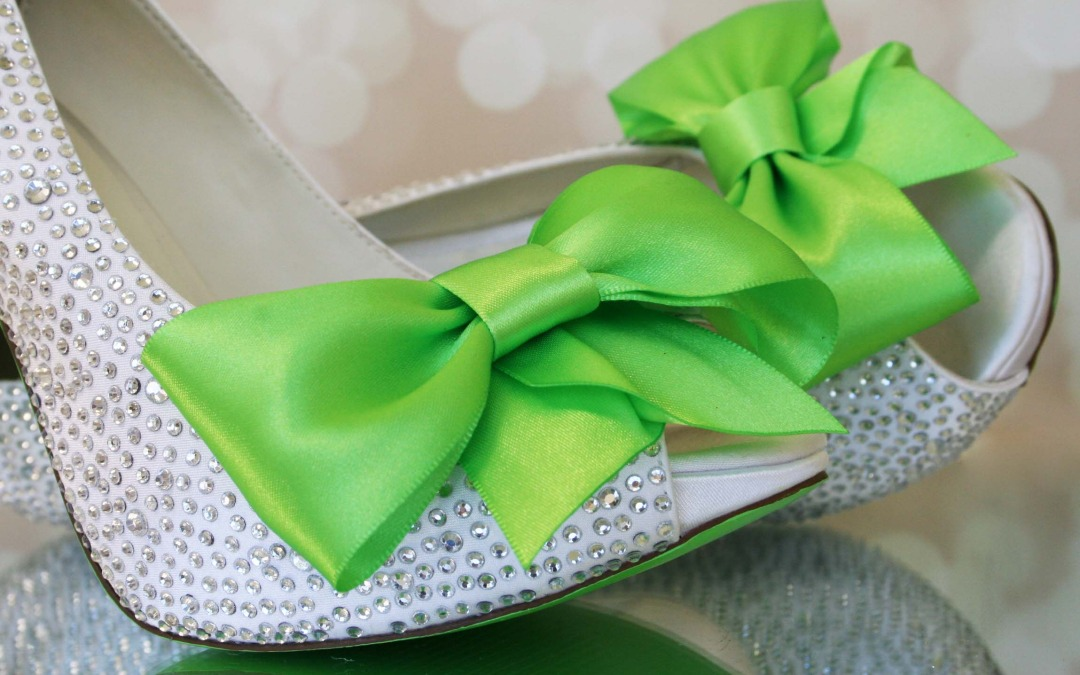 Green With Envy:  How to Make Them Jealous with Green Wedding Shoes
