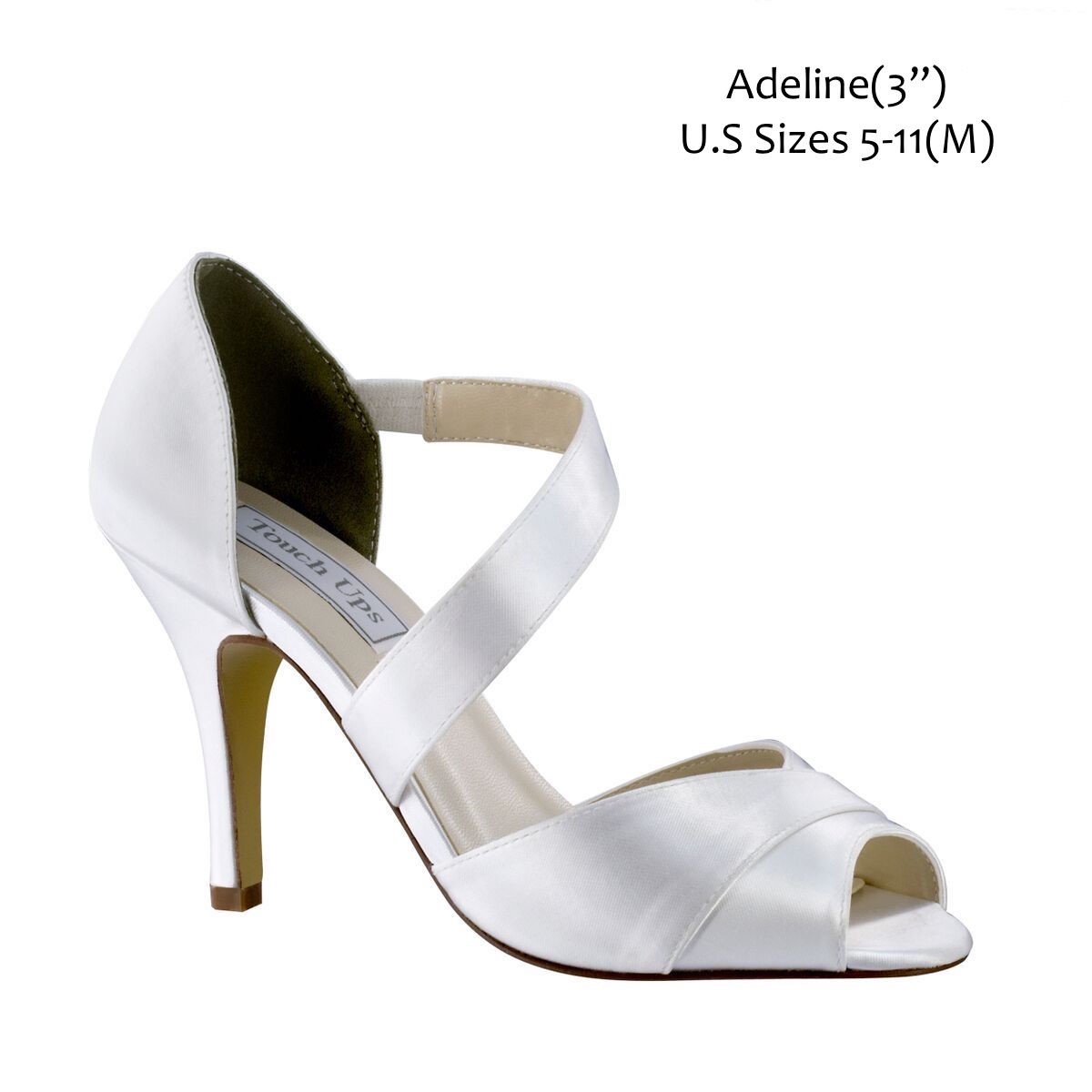 Custom Wedding Shoes Base Shoe Style Adeline