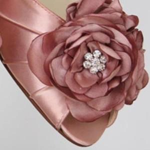 Custom Wedding Shoes Color Palette Antique Pink