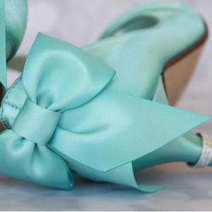 Custom Wedding Shoe Color Palette