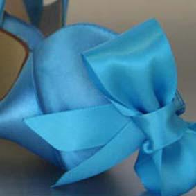 Custom Wedding Shoe Color Palette Beyond The Sea Blue