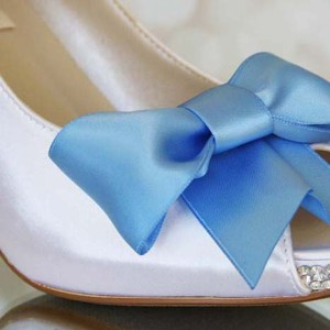 Custom Wedding Shoes Color Palette Bridal White