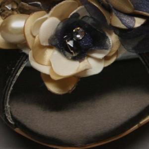 Custom Wedding Shoes Color Palette Brown