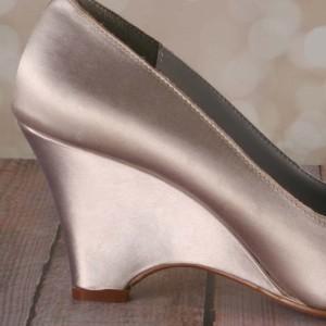 Custom Wedding Shoes Color Palette Cafe