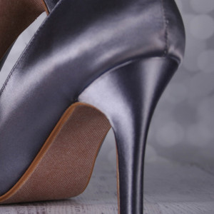 Custom Wedding Shoes Color Palette Charcoal