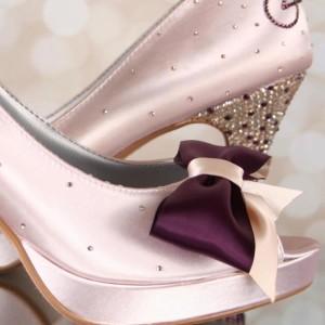 Custom Wedding Shoes Color Palette Chardonnay