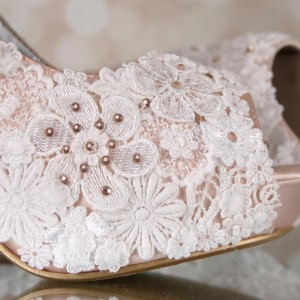 Custom Lace Overlay 1 Custom Wedding Shoes