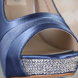 Custom Wedding Shoes Color Palette French Blue