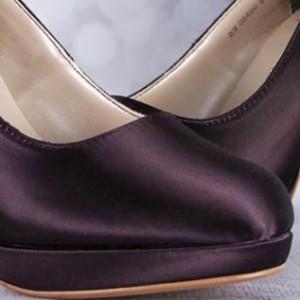 Custom Wedding Shoes Color Palette Lapis