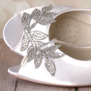 Custom Wedding Shoes Color Palette Light Ivory