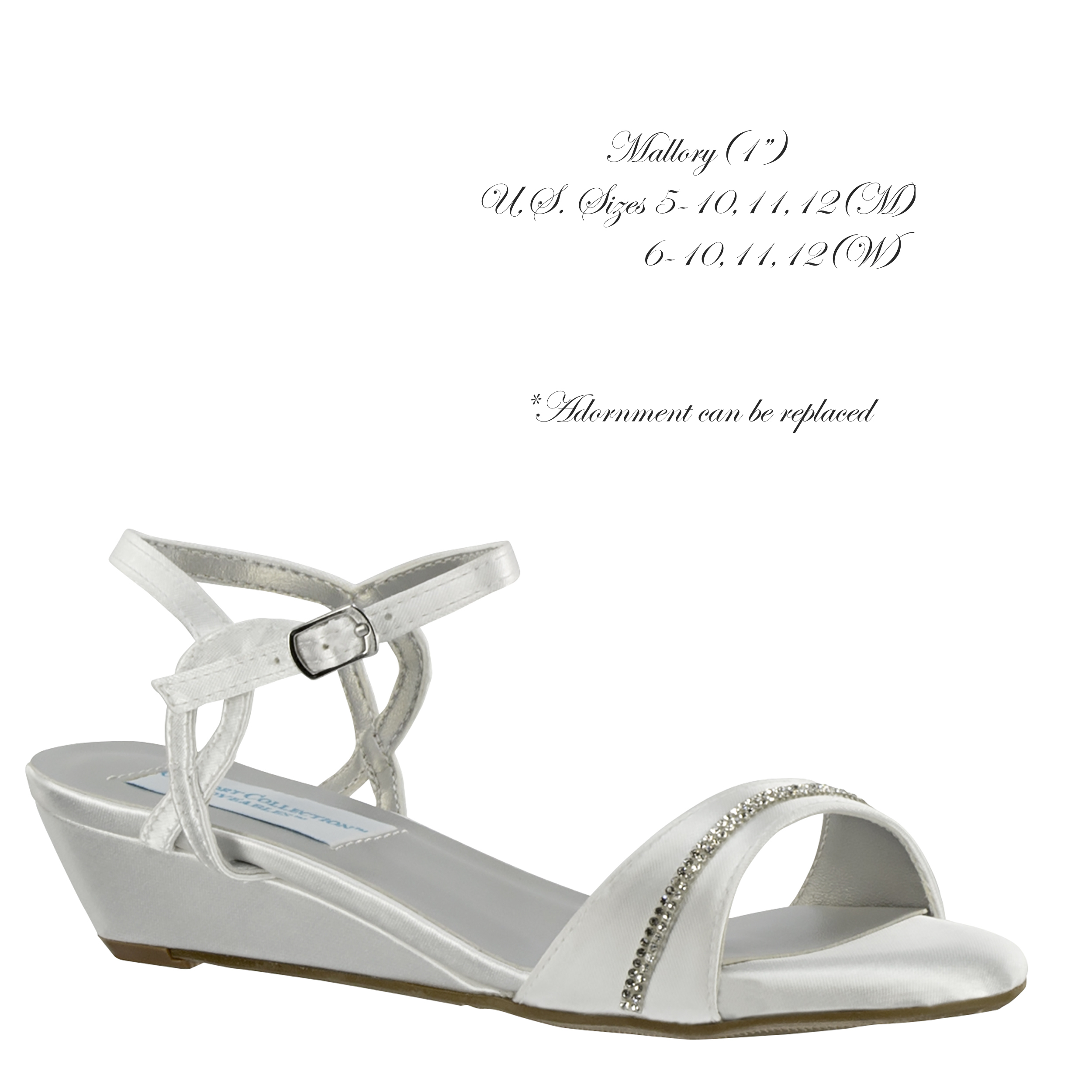 Mallory White Satin - 52216 - 1