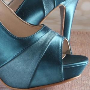 Custom Wedding Shoes Color Palette Oasis
