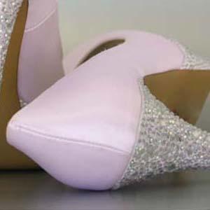 Custom Wedding Shoes Color Palette Paradise Pink