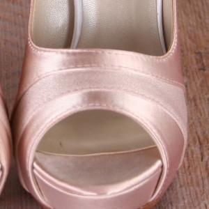 Custom Wedding Shoes Color Palette Blush