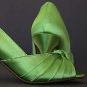 Custom Wedding Shoes Color Palette Rio Lime