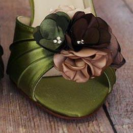 Custom Wedding Shoes Color Palette Sage