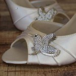 Custom Wedding Shoes Specialty Brooch