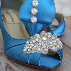 Custom Wedding Shoes Color Palette Turquoise