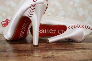 Baseball Custom Wedding Shoes