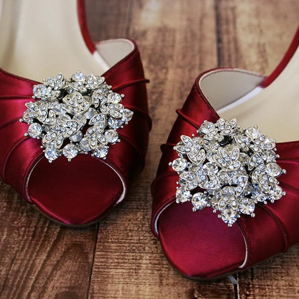 Being A Bride On A Budget Doesn't Mean Boring Wedding Shoes