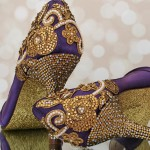 Indian Wedding Shoes: Custom Wedding Shoes Designed for an Indian Wedding Celebration