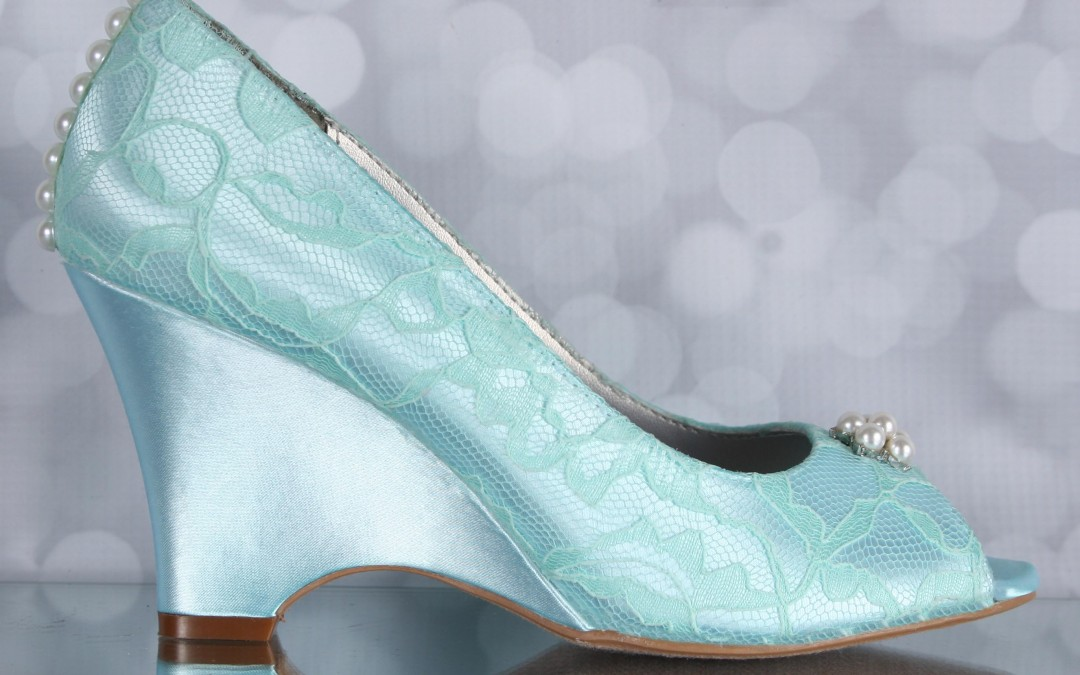 6288553d2 Aqua Blue Wedding Shoes — The Perfect Something Blue Accent for Your  Wedding Day!