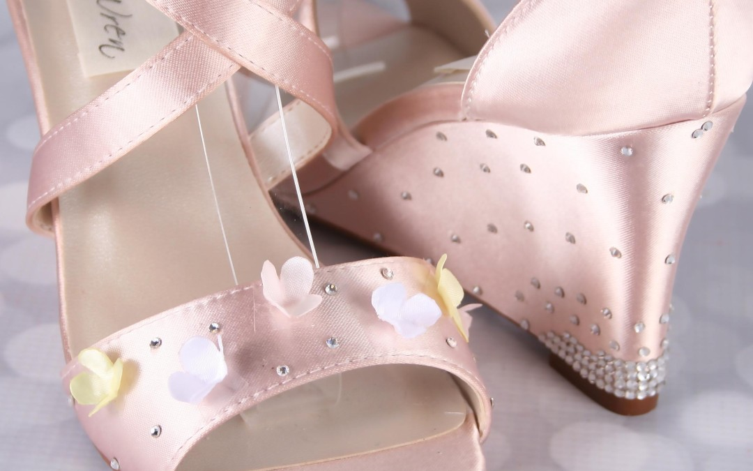Dew Drops and Flowers — Your Custom Wedding Shoes Can Be Whatever You Want